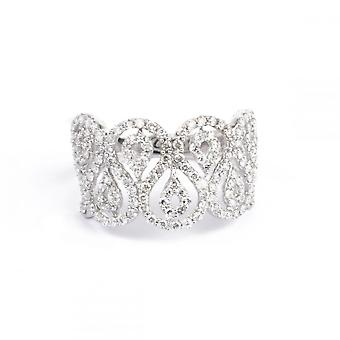 Ring 'Supreme' Witgoud en Diamanten