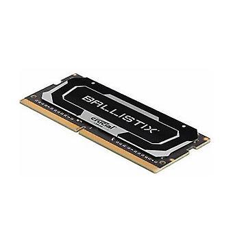 Crucial Ballistix 16Gb Ddr4 Sodimm 2666Mhz Cl16 Notebook Gaming Memory