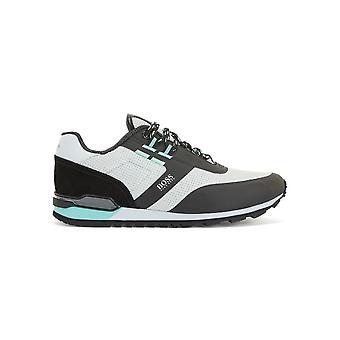 Hugo Boss Footwear Hugo Boss Men's Open Grey Parkour Runn Me Trainers