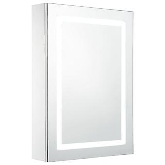 vidaXL LED-Bad-Spiegelschrank 50 x 13 x 70 cm