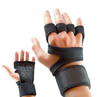 Gym Fitness Gloves, Hand Palm Protector Weight Lifting Glove