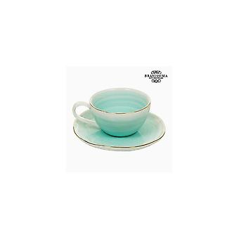 Cup With Plate - Queen Kitchen Collection Porcelain