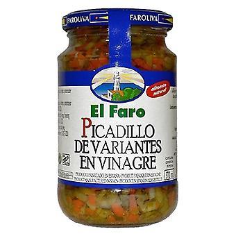 Hackade pickles El Faro (370 ml)
