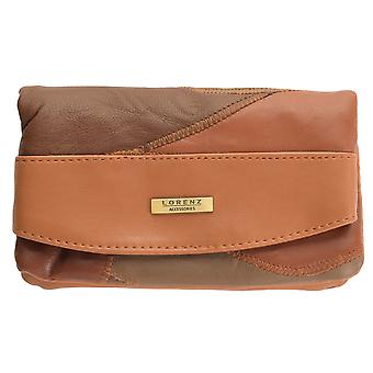 Ladies Large Lightweight Patchwork Leather Purse