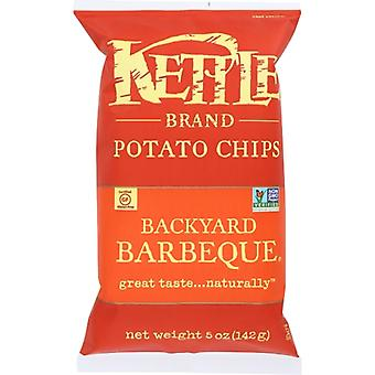 Kettle Foods Chip Pto Backyard Bbq, Case of 15 X 5 Oz