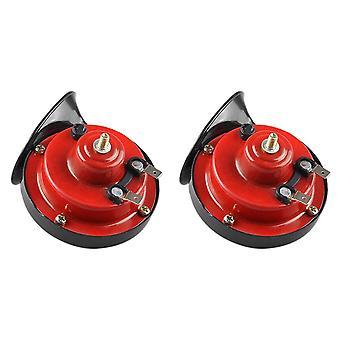 2 Stuks auto hoorn universele 12v luide dual-tone slakken elektrische 105db voor vrachtwagen motorfiets