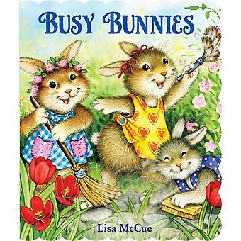 Busy Bunnies av Illustrated av Lisa McCue