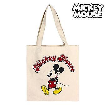 Multi-use Bag Mickey Mouse 72891 White Cotton