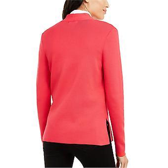 Alfani Petites Petite Full Needle Sweater Coat