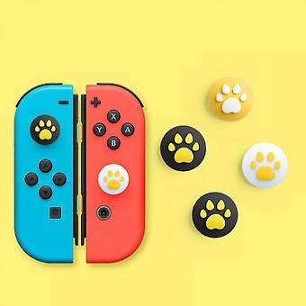 Silicone Cat Claw Thumb Grip Cover, Suitable For Nintendo Switch&lite, Joy-con Controller