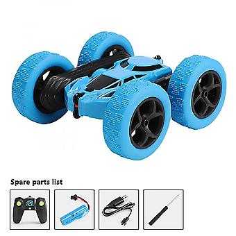 Double-sided Illuminated Remote Control Car 360 Degree Rotating Children's Toy