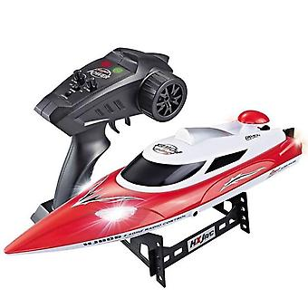 New 2.4G High Speed Electric RC Racing Boat Fast Ship With Led Light/ Water Cooling System RC Boats