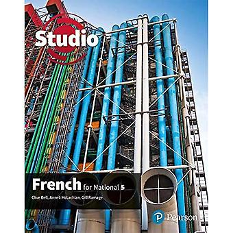 STUDIO FOR NATIONAL 5 FRENCH STUDENT BOO