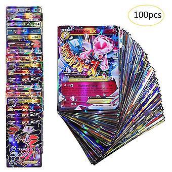 100kpl Harvinaisia Pokemon-kortteja 95gx +5me