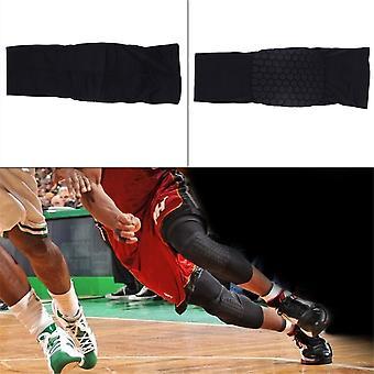 Kids Adult Crashproof Pad Basketball Leg Knee Long Sleeve Protective Gear