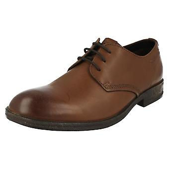 Mens Clarks Lace Up Formal Shoes Goby Walk