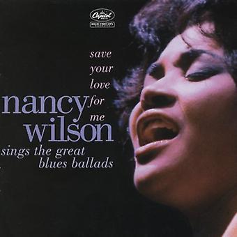 Nancy Wilson - enregistrez votre amour pour moi [CD] USA import