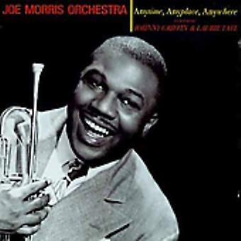 Morrisjoe & His Orchestra - Anytime Anyplace overal [CD] USA importeren