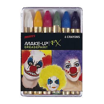 Schminkstifte blandade färger