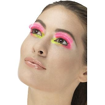 80 lashes neon pink