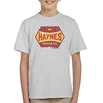 Haynes Golden Fleece Motor Oil Kid's T-Shirt
