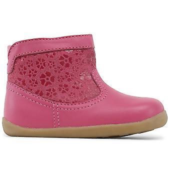 Bobux paso chicas mirada botas Primavera rosa