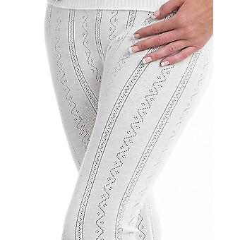 Slenderella Brettles Thermal Cream Ankle Pant BUW059
