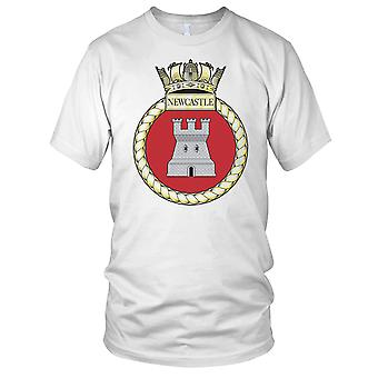 Royal Navy HMS Newcastle Mens T-skjorte