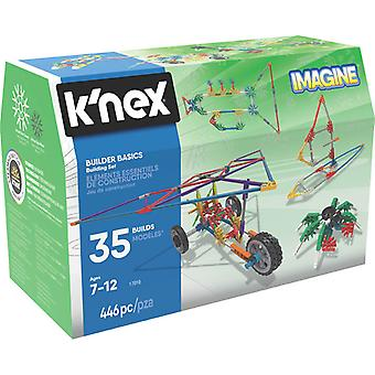 K'NEX builder grunnleggende 35 modell bygge sett