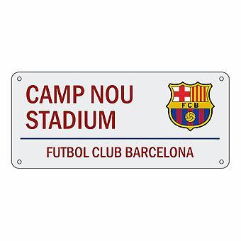 FC Barcelona officielle Camp Nou Stadion fodbold Crest Design Street tegn