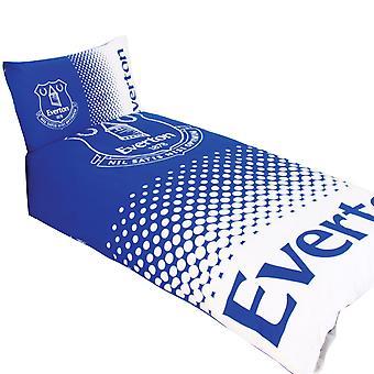 埃弗顿 FC 官方可逆淡淡羽绒被覆盖床上用品集