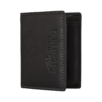 TOM TAILOR mænds pung tegnebog pung sort 4809