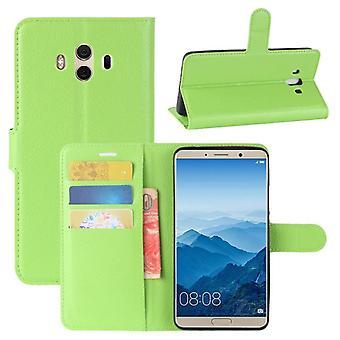 Pocket tegnebog premium grønne for Huawei mate 10 beskyttelse ærme tilfælde dække pose nye