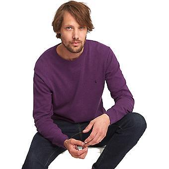 Joule Herre Jarvis Crew Neck langærmet ribbede Casual Sweater Jumper