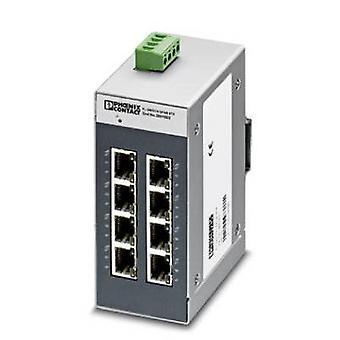 フェニックス コンタクト フロリダ スイッチ SFNB 8TX 工業用イーサネット スイッチ 10/100 Mbps