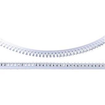 HellermannTyton 251-10109 G51P-A-PE-NA Flexiform rand beschermer wit