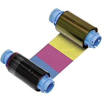 Metapace Thermal transfer roll (label printer) Original Black, Cyan, Magenta, Yellow 1 pc(s) YMCKO C-1 fbmpc1-1