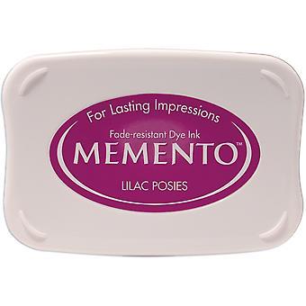 Memento Dye Ink Pad-Lilac Posies