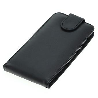 OTB mobile case bag faux leather for mobile CoolPad Torino S Flipcase black new
