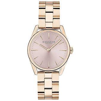 Coach Womens Modern Luxury Rose Gold Tone Bracelet 14503206 Watch