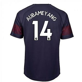 2018-2019 Arsenal Puma Away Football Shirt (Aubameyang 14)