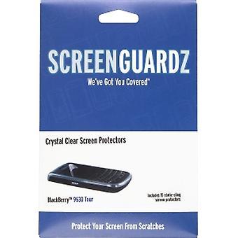 5 Pack -BodyGuardz - ScreenGuardz Screen Protectors for Blackberry 9630, 9650