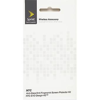 Anti Glare/Anti Fingerprint skärmskydd för HTC EVO Design 4 G (2 Pack)