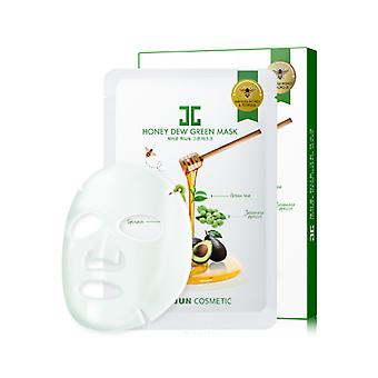 Jayjun Honey Dew Green Mask 5pcs/box