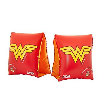 Zoggs Wonder Woman Kids  Swimming Armbands Red/Yellow  for 1-6 years