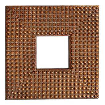 7.5x7.5 سم أو 3x3 بوصة، إطار الصورة الذهبية