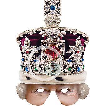 Regina Crowned semimaschera