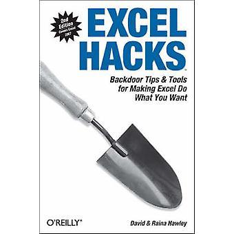 Excel Hacks by David Hawley - 9780596528348 Book