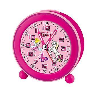 Scout Girls Alarm Clock NightLight LED Pink 280001008