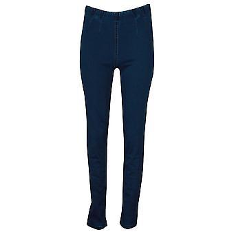 Laurie Slim Fit Blue Denim Stretch Jeggings